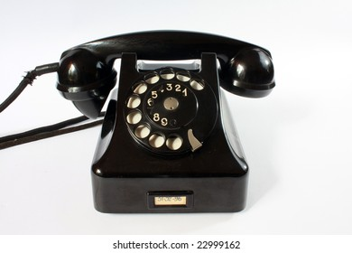 The old phone made in Poland.