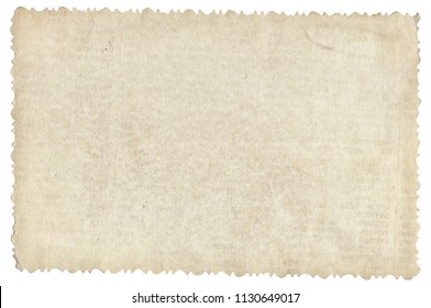 Old photo paper texture with stains and scratches isolated