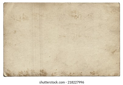 Old photo texture with stains and scratches