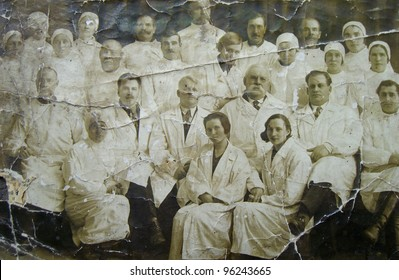 Old photograph nurses