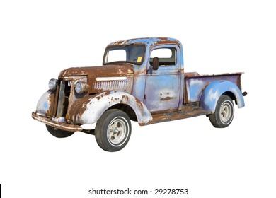 old pickup truck starter for a major restoration