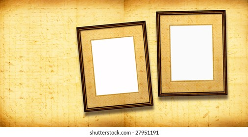 Old Picture Frames , 2D art