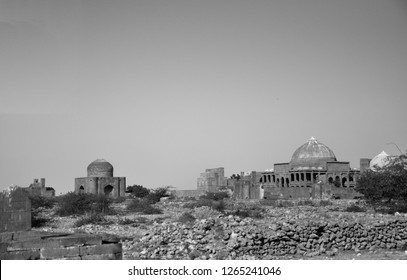 An old picture of Makli Tomb (A UNESCO Heritage site) in the Sindh province of the Pakistan