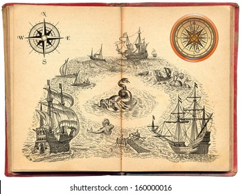 Old pirate book