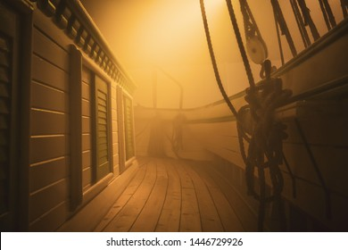 Sailing Ship Fog Images, Stock Photos & Vectors | Shutterstock