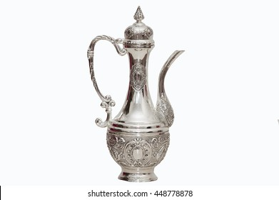 old pitcher silver