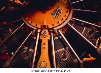 Old plane engine