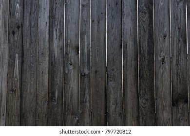 Old plank wooden wall background. The texture of old wood. Weathered piece of wood.
