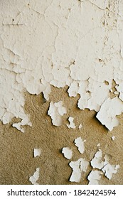 old plaster on the wall