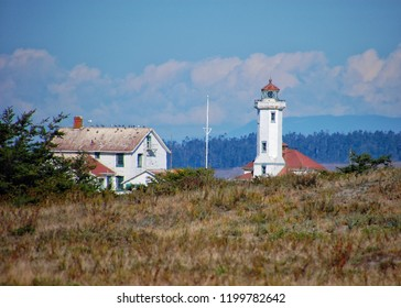 Old Point Wilson lighthouse at Fort Worden
