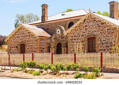 The Old Police Station and Courthouse were completed in 1860 - Auburn, SA, Australia