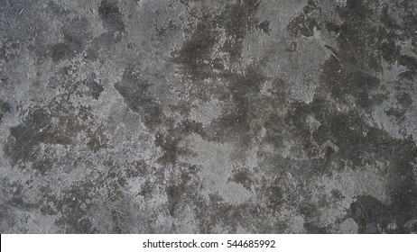 Old polished concrete floor, Surface grunge rough of cement texture background