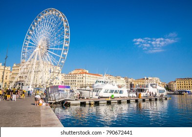 Old port in Marseille, Provence, France