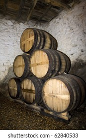 Old Port wine cellar at Douro, portugal