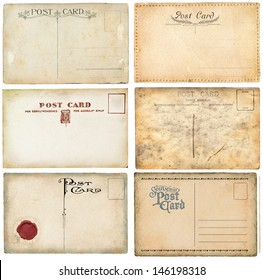Old postcards set