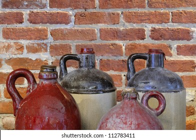 Old Pottery Jugs