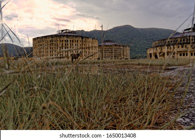 The old Presidio Modelo Prison building on the Isle of Youth, Cuba