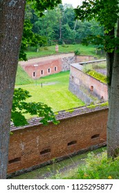 Old prussian fortress in Gizycko, Poland