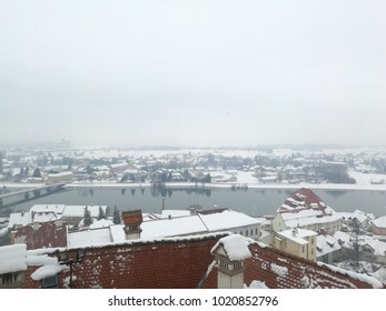 Old Ptuj in winter.