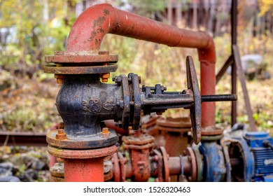 old pumping station, pumping, pump, hydrant