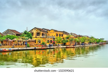Old Quarter of Hoi An town. UNESCO world heritage in Vietnam