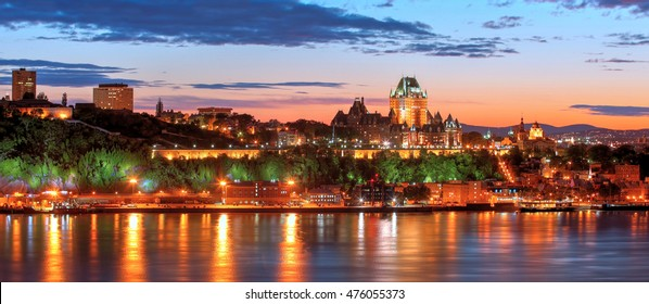 Old Quebec City Panorama
