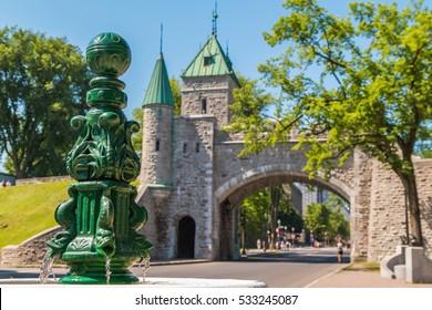 Old Quebec Fortification, Quebec