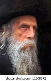 The old rabbi.