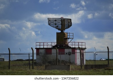 old radar tower