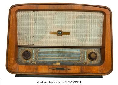 Old Radio Images, Stock Photos & Vectors | Shutterstock