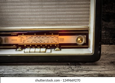 old radio - still life