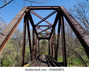 Old Railroad Bridge over the Eno River, NC