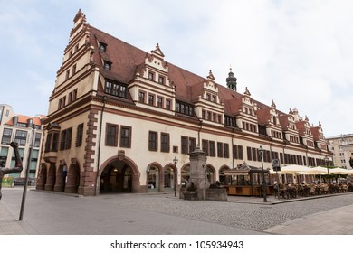 Old Rathaus (Town hall) in Leipzig, Germany