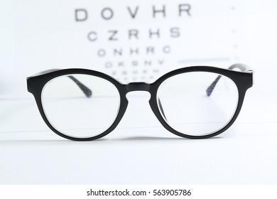 Old reading glasses