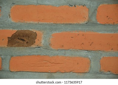 old red brick for background
