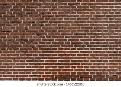 Old red brown brick background, Abstract geometric pattern, Brick block texture, Outdoor building wall, Can be used as background for display or montage your products.