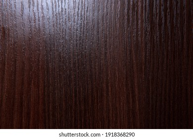 Old red dark textured wood background, brown wood surface - image.