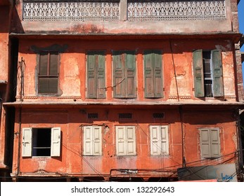 old red house in Jaipur,India