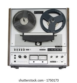 Old reel-to-reel tape deck - isolation