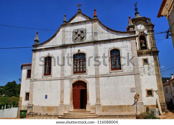 Old renaissance church of Espinhal, Penela