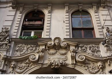 Old renaissance style apartment