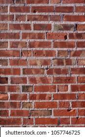 Old renovated brick wall
