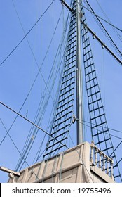 old restored sailboat