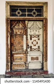 Old retro door