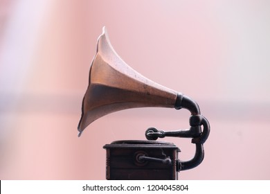 A old and retro gramaphone
