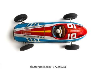 old retro sports race car