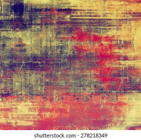 Old retro vintage texture. With different color patterns: yellow (beige); brown; purple (violet); red (orange)