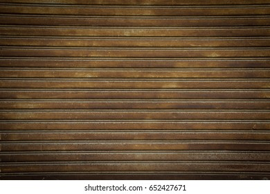 Old roller shutter texture