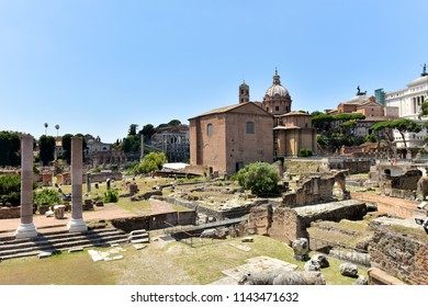 Old Rome. Sights of Italy.