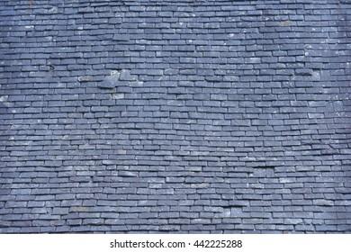 old roof slates